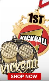 Kickball Medals