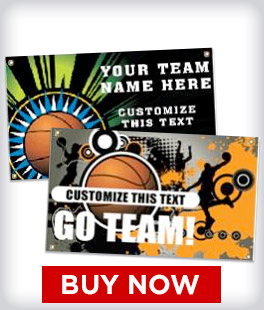 Custom Basketball Banners