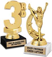 "7"" Luxury Base Trophy"