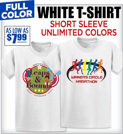 Custom Direct Print T-Shirts