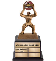 "15 1/2"" Fantasy Monster Perpetual Trophy"