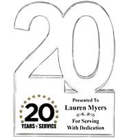 20 Years Of Service Acrylic