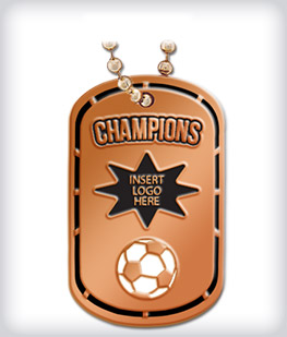 Custom Bronze Dog Tags