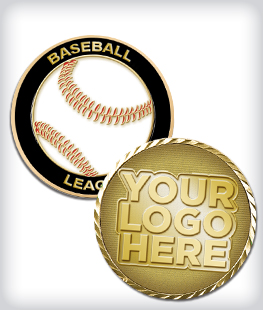 Custom Baseball Coins