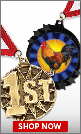 Rooster Medals