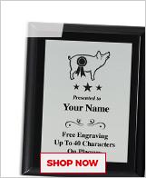 Pig Plaques