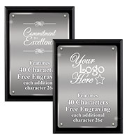 Floating Acrylic Plaque