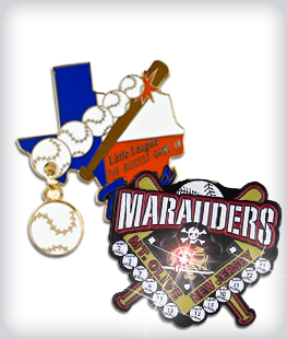 Custom Specialty Baseball Pins