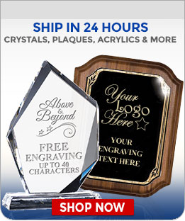 New Corporate Awards Ship in 24 hours
